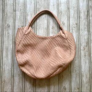 Diez Lux Nude/Bone Shoulder Bag